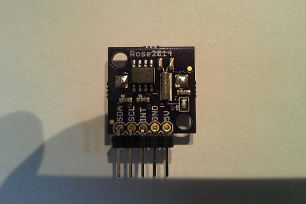 I2C RTC ISL1208
