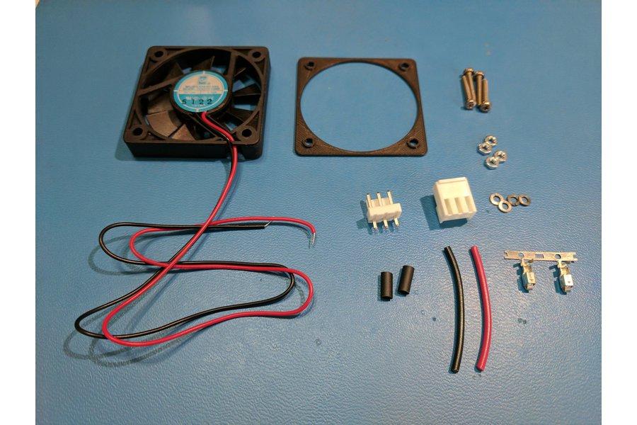 MP Mini Case Fan Upgrade