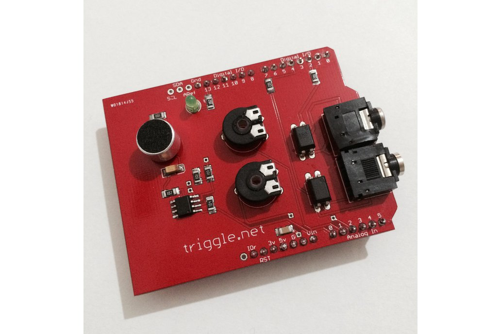Sound Trigger Shield for Arduino 1