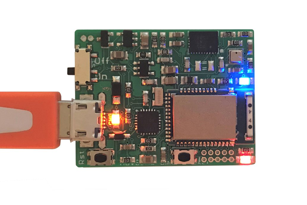 OmniTracker: BLE Wireless 9-axis IMU and Barometer 4