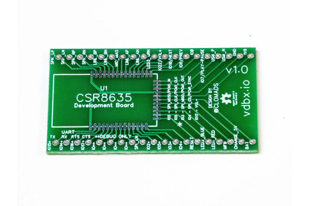 Bluetooth Audio Breakout for CSR8635 1
