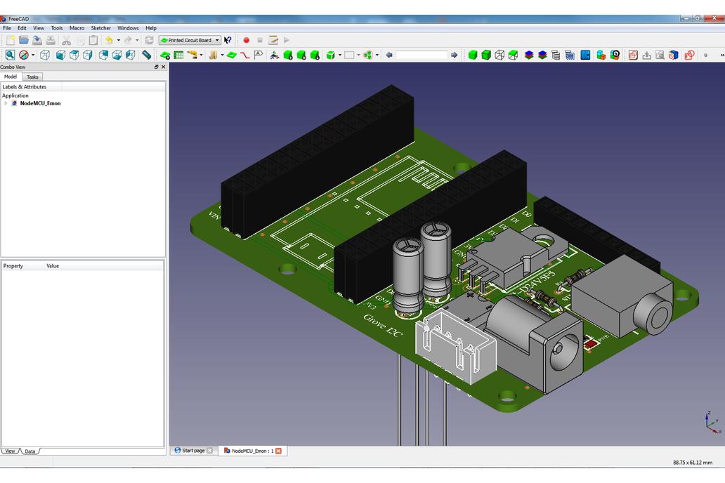 NodeMCU Energy Monitor (PCB/Kit) 2