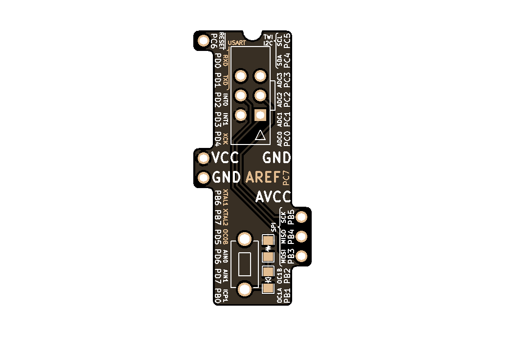 ISP Bridge 5(Atmel ATtiny x8, ATmega x8) 5
