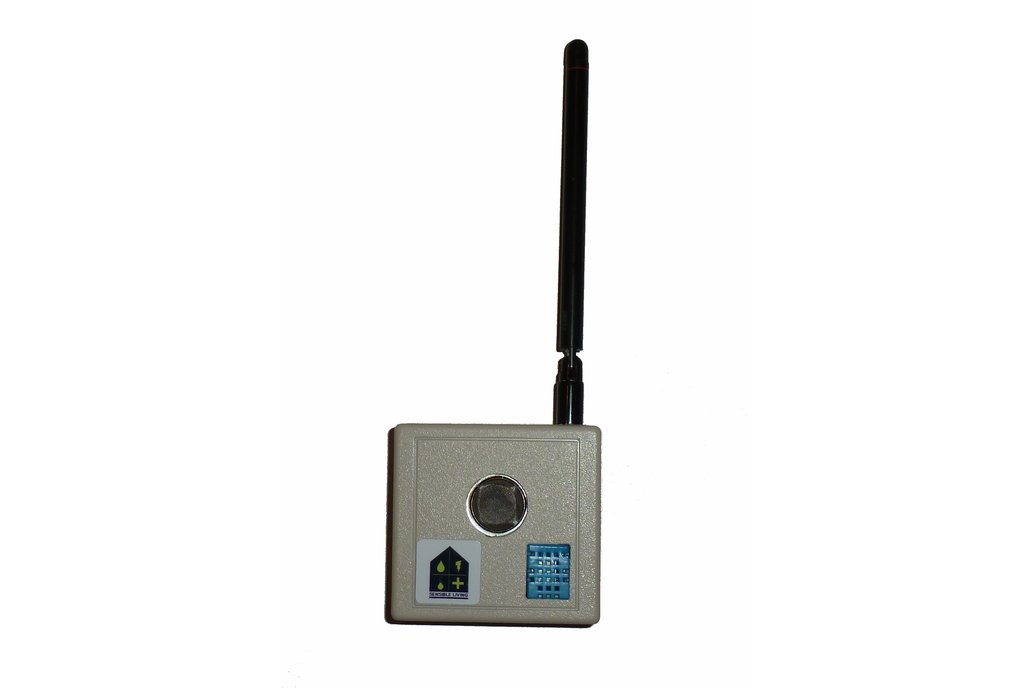 Wireless MQ2 Combustible Gas sensor  2