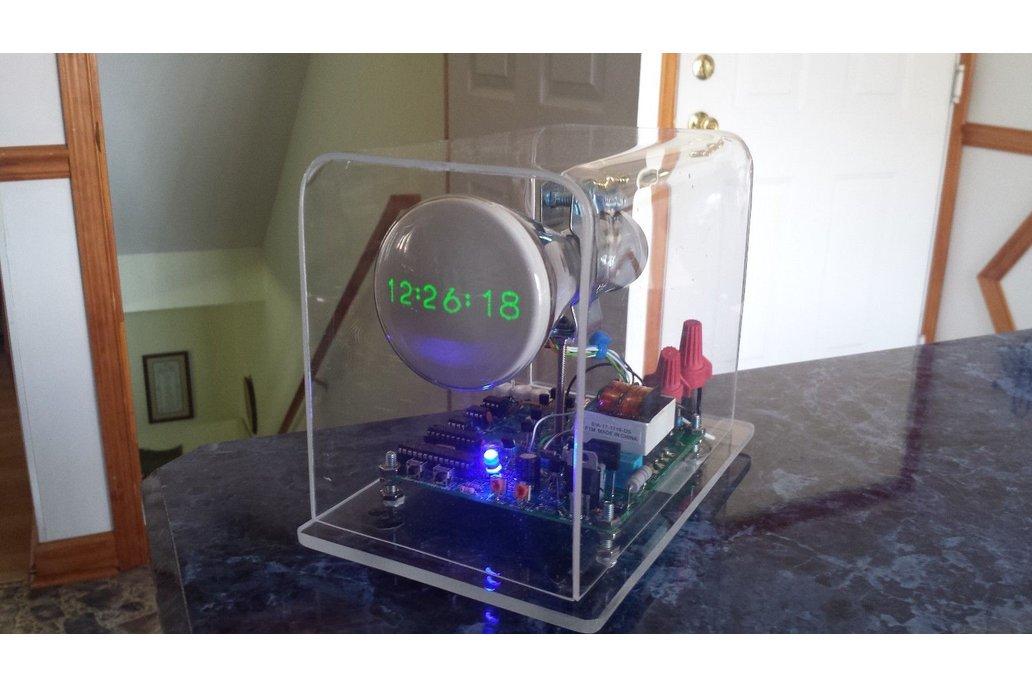 "Mini Oscilloscope Clock DG7-6 Cathode Ray Tube 3"" 7"