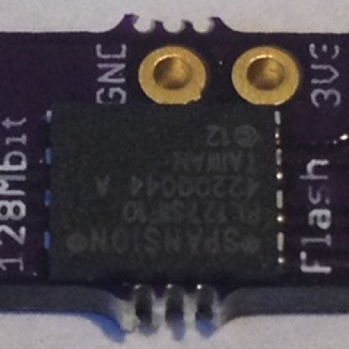 SPI Flash Memory Add-ons for Teensy 3 X from Pesky Products
