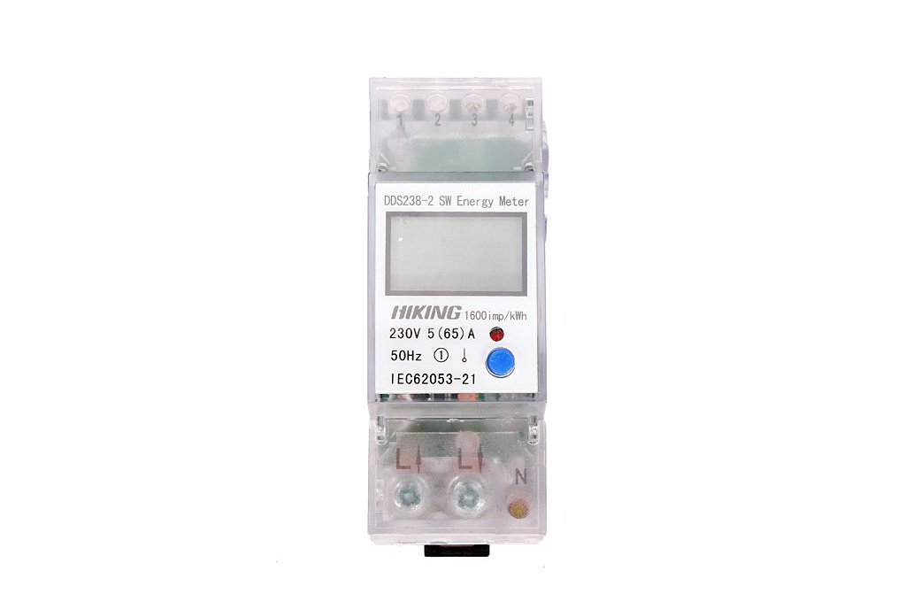 5(65)A 230V 50HZ Single Phase Energy Meter 1