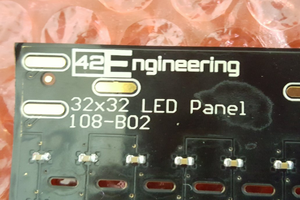 Flexible LED Array 32x32 - WS2812 WS2813 2