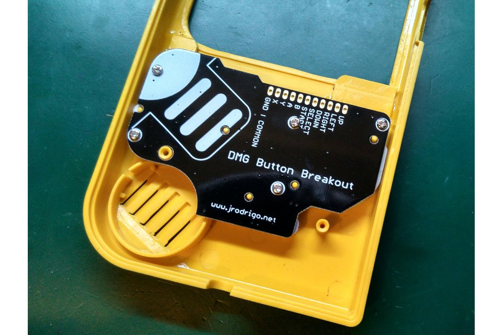 DMG Button Breakout PCB for Game Boy Mods Zero 1