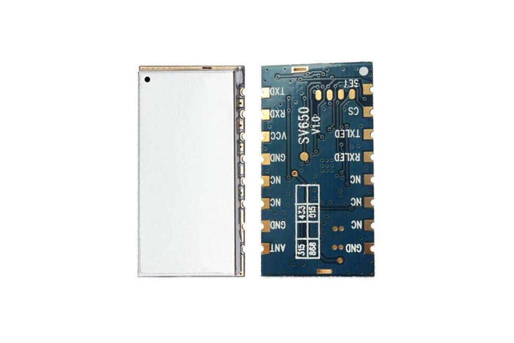 433MHz 500mW wireless data module SV650 1