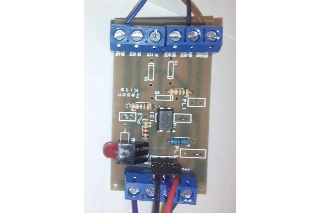 Universal NPN PNP inductive sensor interface board 2