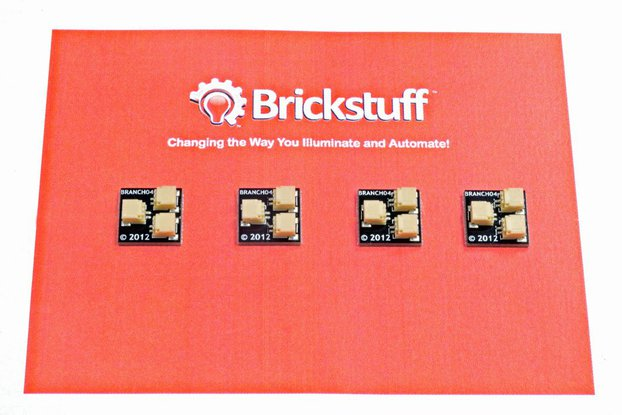 Brickstuff 1:2 Expansion Adapter (4-Pack)