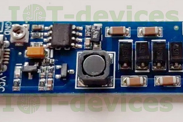 DCDC_3V3_400V Z5mm adjustable high voltage module