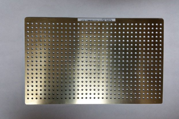 RF Prototype Base Plate (160mmx100mm)