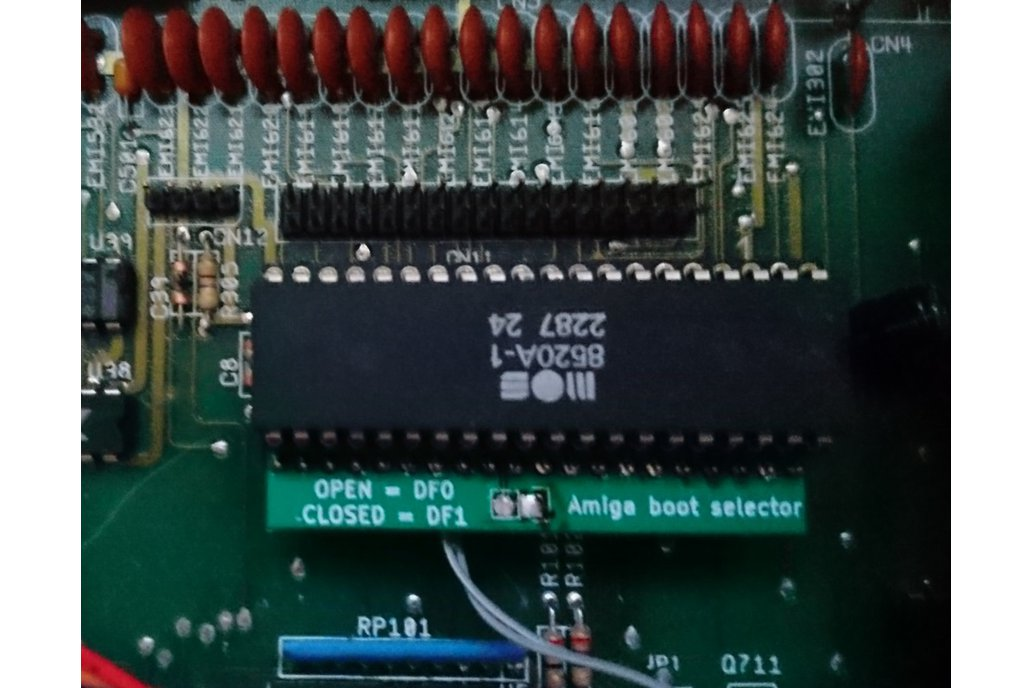 Amiga Boot Selector 3