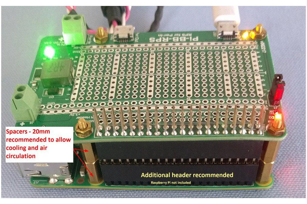 Pi-BB-RPS Redundant Power Supply for Raspberry Pi 6