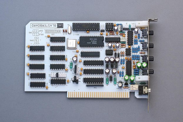 BlasterBoard - a complete 8-bit ISA sound card
