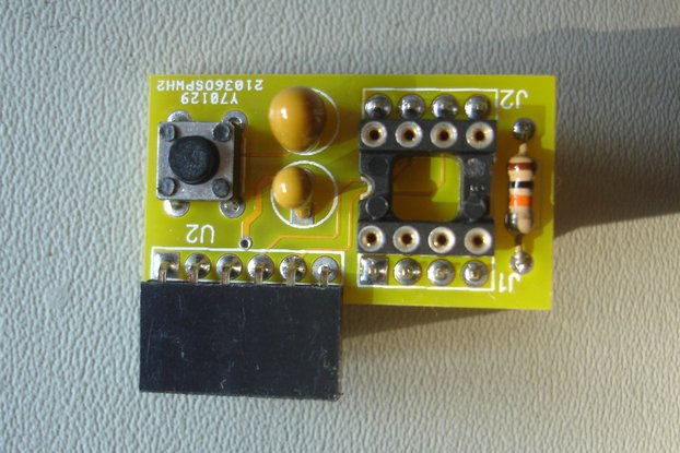 PIC12F breakout board