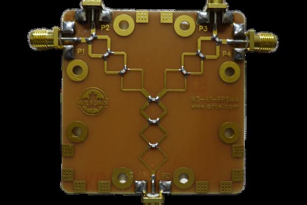 4-Port RF Splitter/Combiner for WiFi and BT