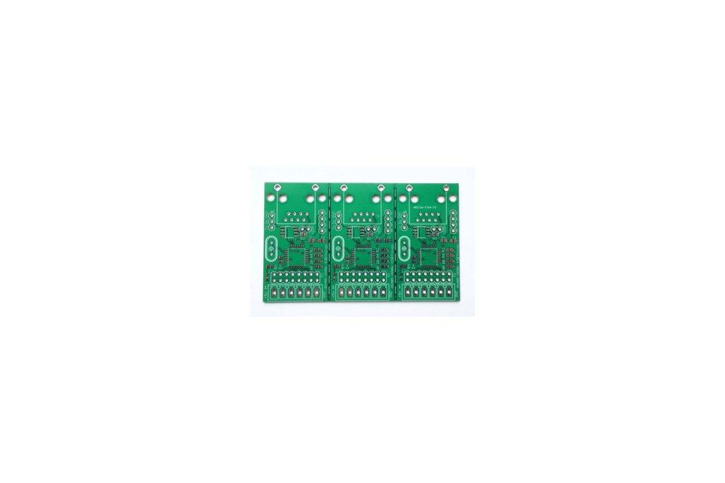 DMX decoder - RGBW LED or pixel controller PCB (set of 3) 2