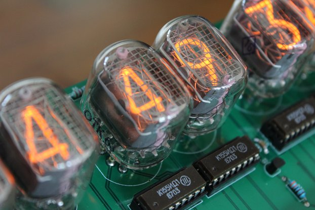 Unique 6 digit IN-12 Nixie Clock with WiFi