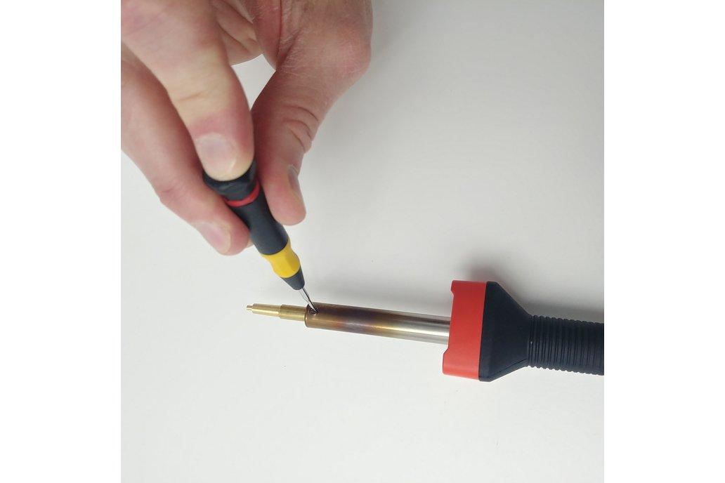 Heat-set insert install #4-40, M3, and M5 3