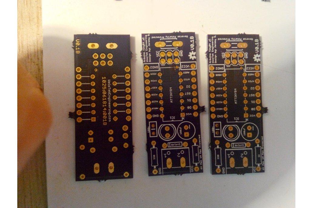 ArduinoTiny 84 kit 3