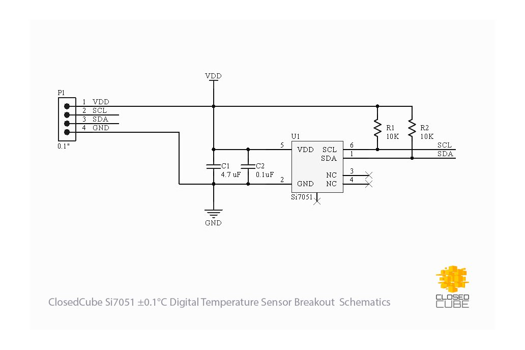 Si7051 ±0.1°C (max) Digital Temperature Sensor 5