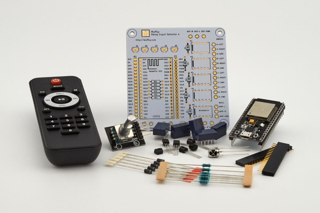 Muffsy Relay Input Selector - Kit 1