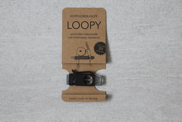 Loopy - the clever aid for headphones