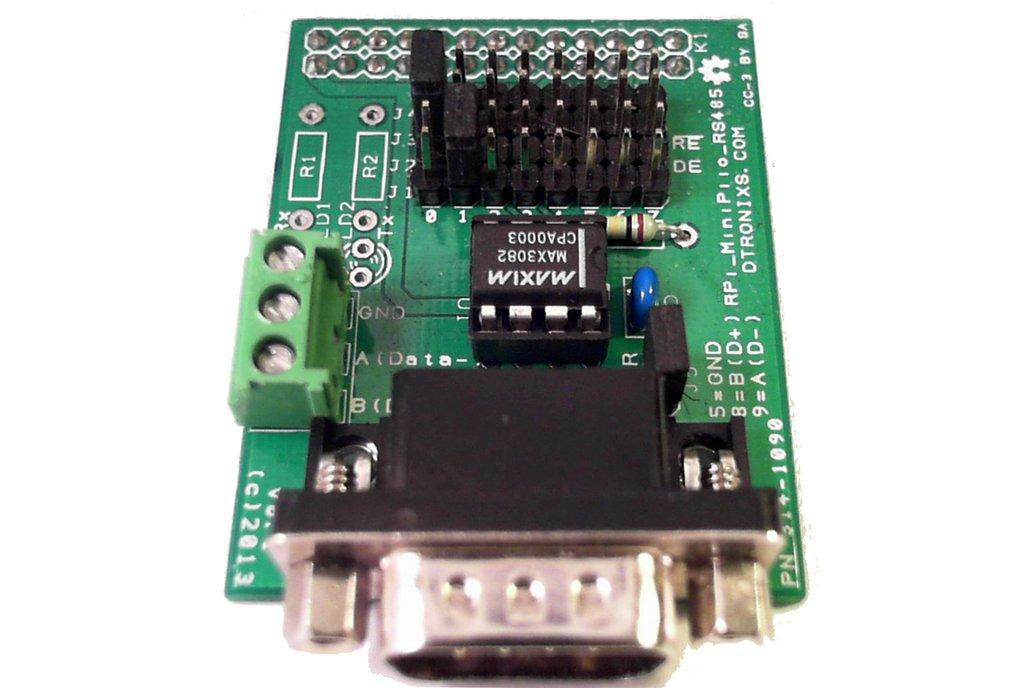 Raspberry PIIO - MiniPiio RS485 add-on board 1
