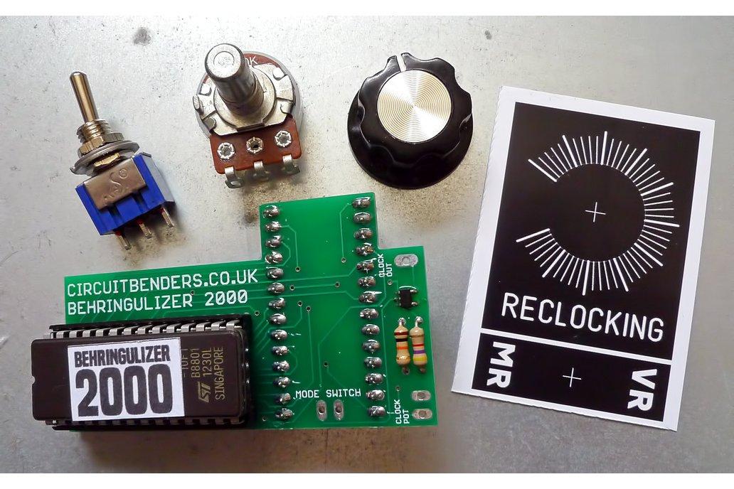 Behringer DSP multiFX dual OS & reclocking DIY kit 1