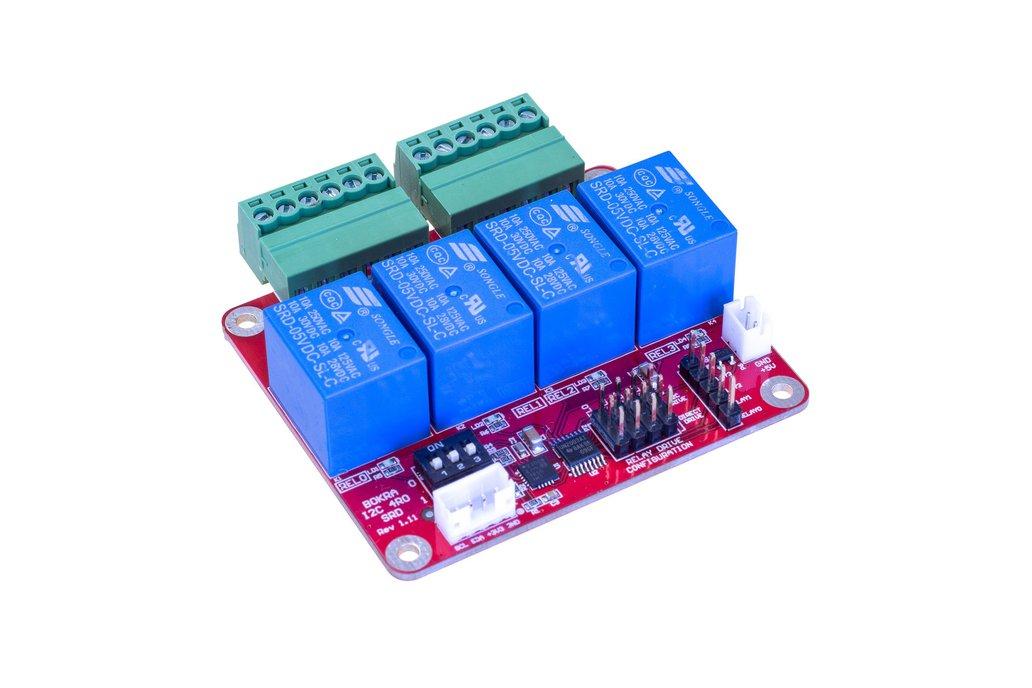 I2C 4-channel relay module 1