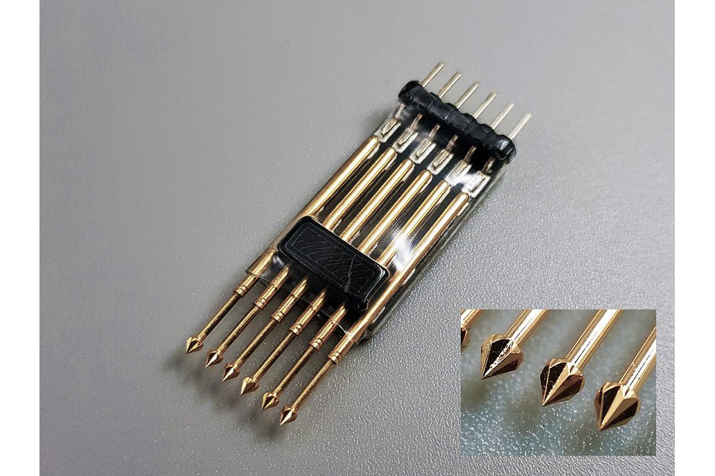 6-pin pogo pin 1