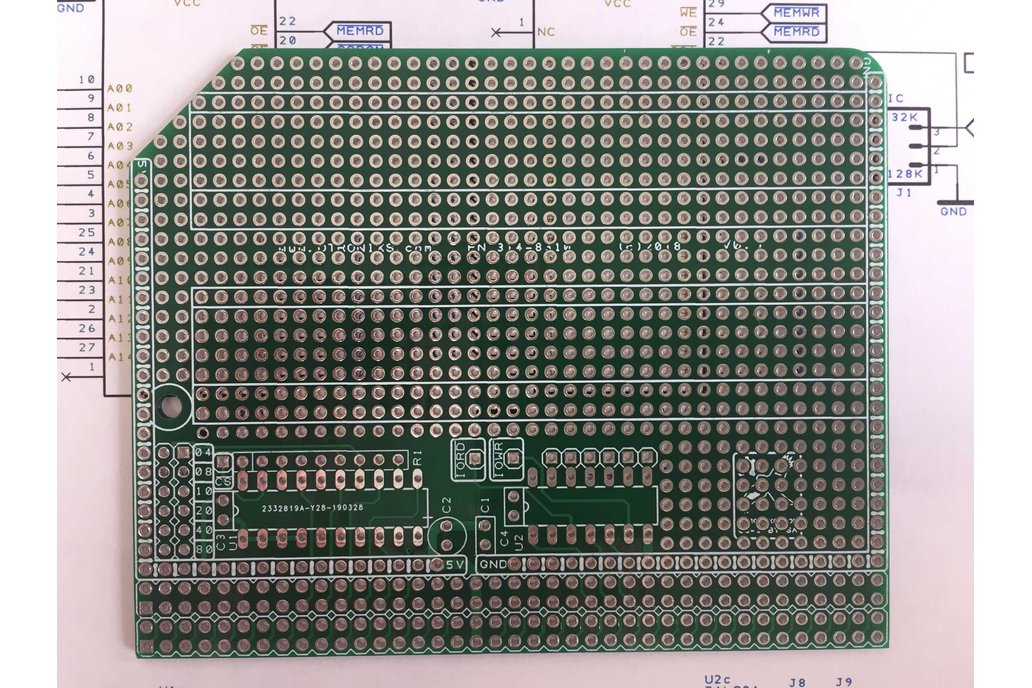 Enhanced Prototype Board/PCB for the RC2014 Bus 1