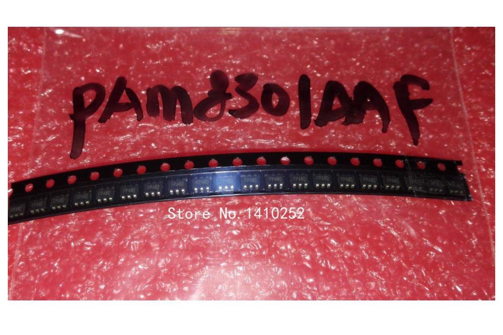PAM8301 PAM8301AAF SOT23-6 5pcs 1