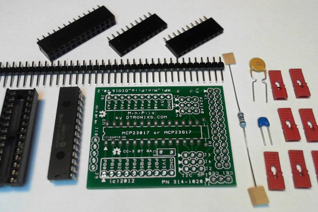 MiniPiio DIO16- add-on board Kit only