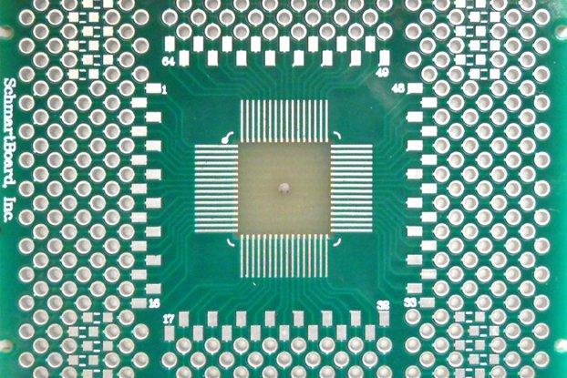 SchmartBoard ez QFN/DFN 64 Pins 0.5mm Pitch PCB