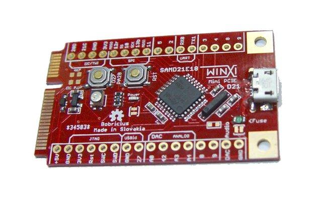MINI PCIE Micropython Arduino Zero