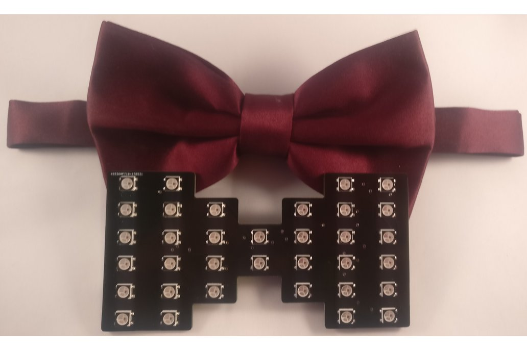Chroma Wear RGB Bow Tie 4
