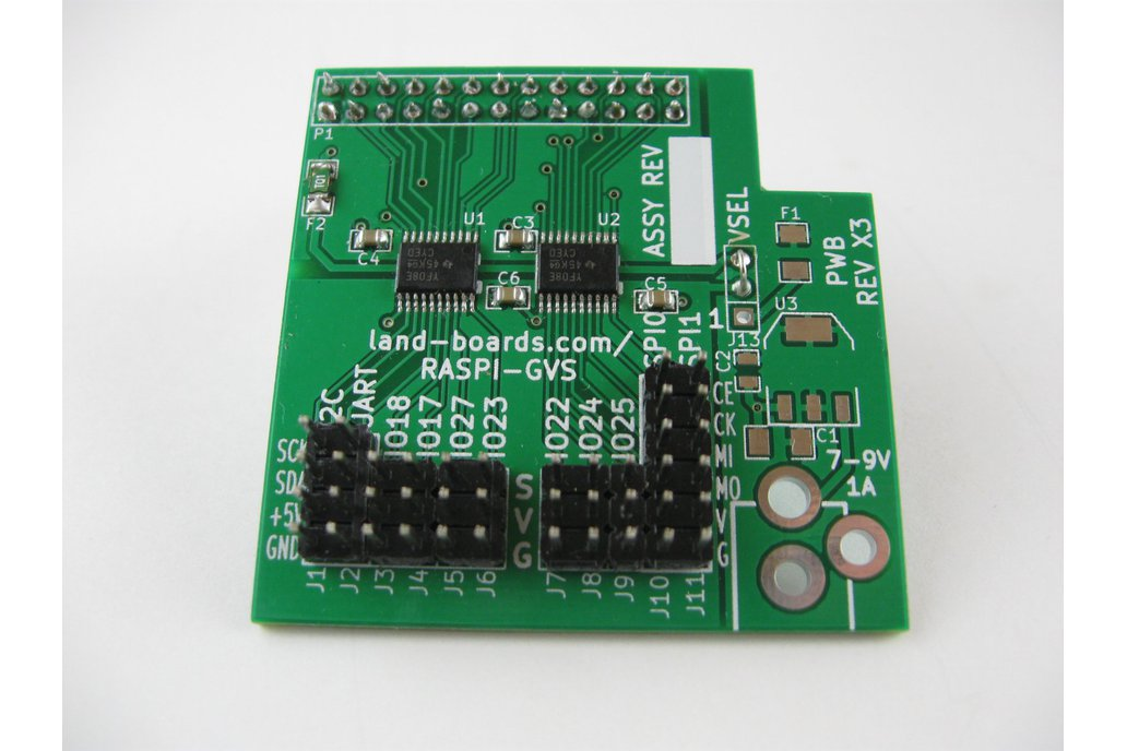 5V I/O Card for the Raspberry Pi (RasPi-GVS) 1