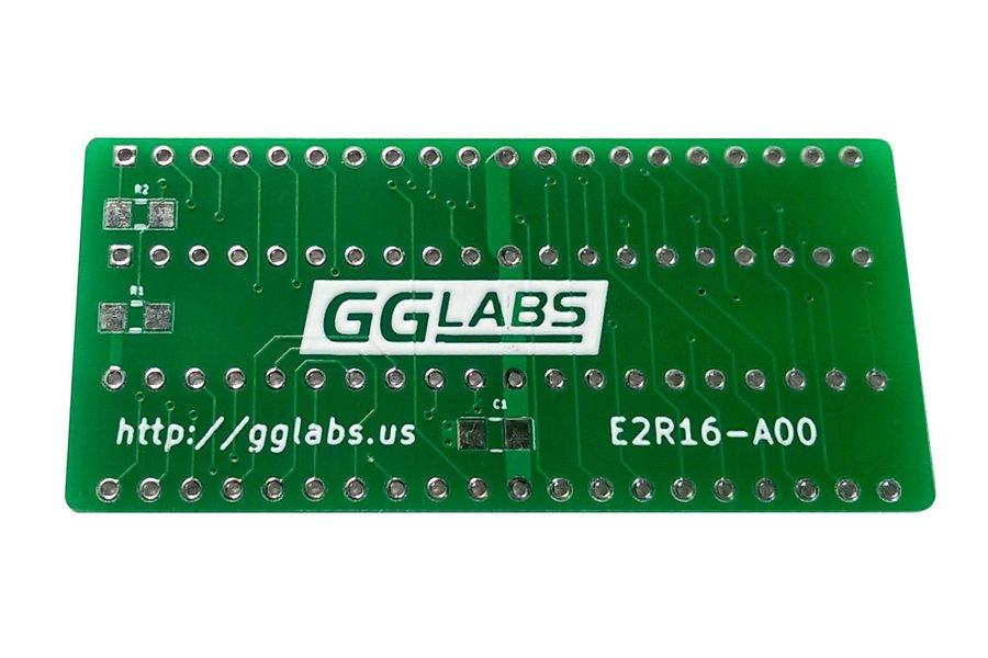 E2R16 - 27C400 adapter for TL866 - Amiga Kickstart
