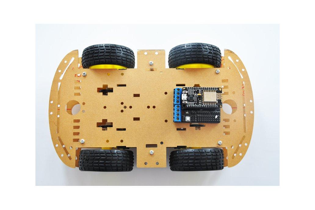ESP8266 Wireless WiFi 4WD RC Smart Car  4