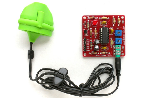 Easy pulse sensor based on photoplethysmography