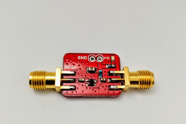 Low Noise Amplifier 4GHz, 20dB Gain, 0.65dB NF