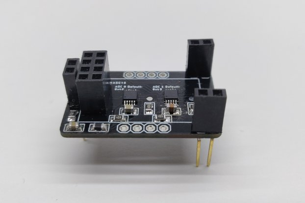 ESP8266-01  -  8 channel ADC expander (2x ADS1115)