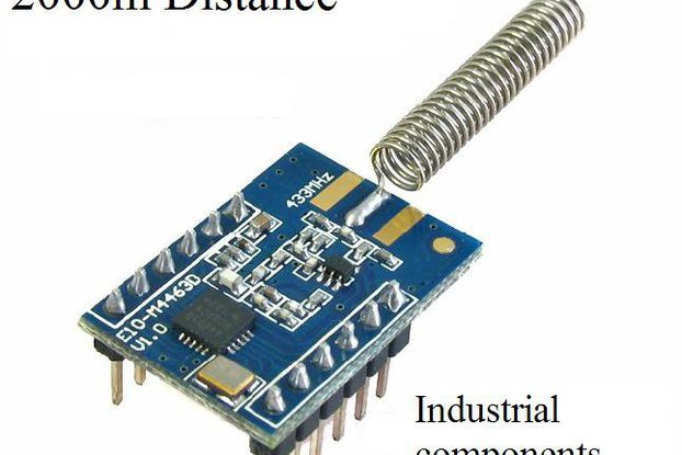 2000M Wireless transceiver rf module