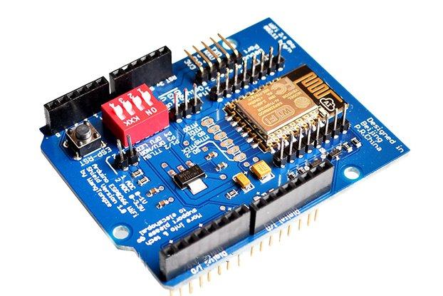 ESP-12E ESP8266 Wireless Shield For Arduino(6990)