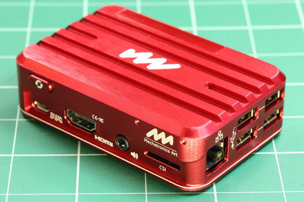 Aluminum Case for Raspberry Pi 3 8