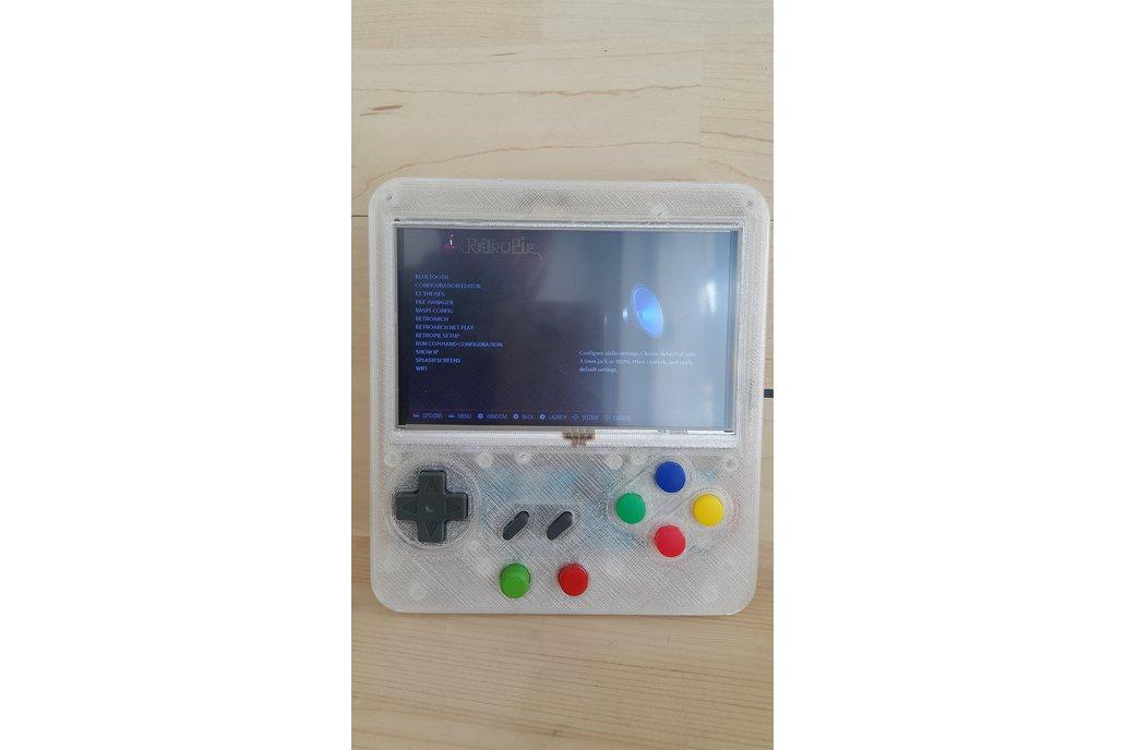 Custom Retropie Gameboy Style System 3